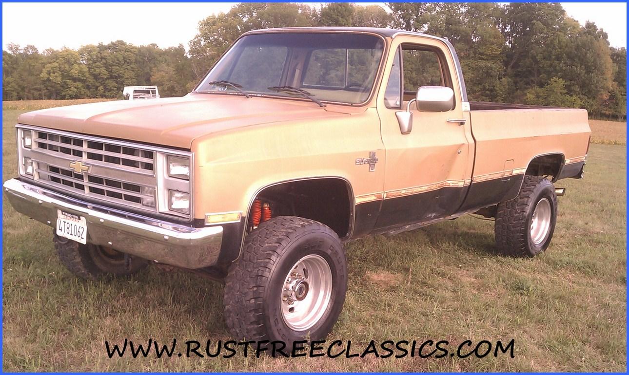 black gold chevy truck
